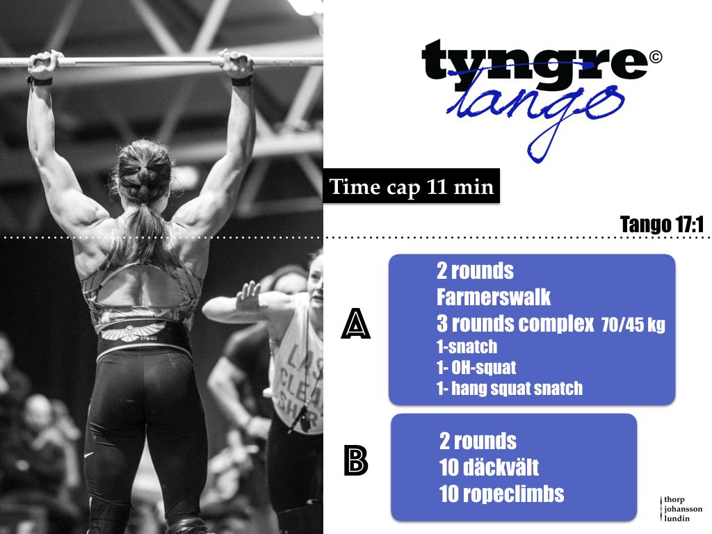 Under helgens Tyngre Classic vankades det både strongman och strongwoman  och det avspeglade sig sannerligen i tävlingens första wod ccb6854b7d15a